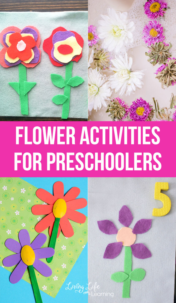 You'll love these flower activities for preschoolers to bring flowers inside during those warm months when you can find flowers everywhere.