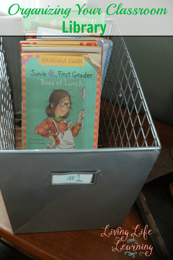 With all of those wonderful books, get them sorted and on display so they are easy to find with these tips on how to organized your classroom library