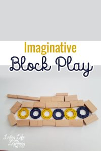 Get your imagination running wild and create anything you'd like with imaginative block play