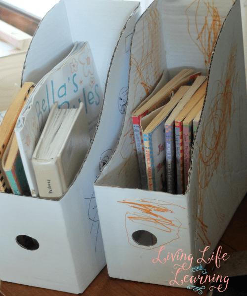 magazine boxes