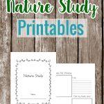 Nature study printables
