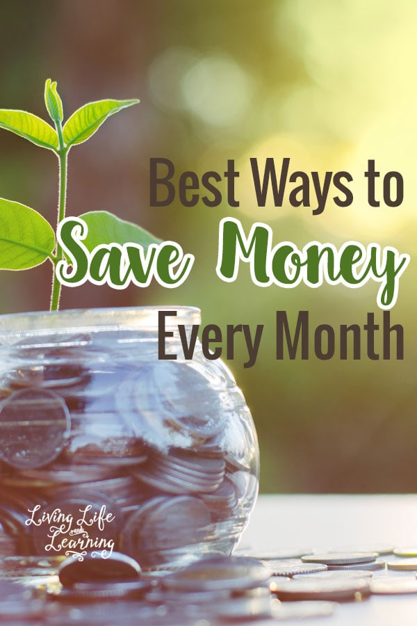 Best Way to Save Money Every Month so you can afford the life you want without having to count each and every penny.