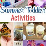 Have some fun with your toddler and stay away from those screens with these wonderful summer toddler activiities