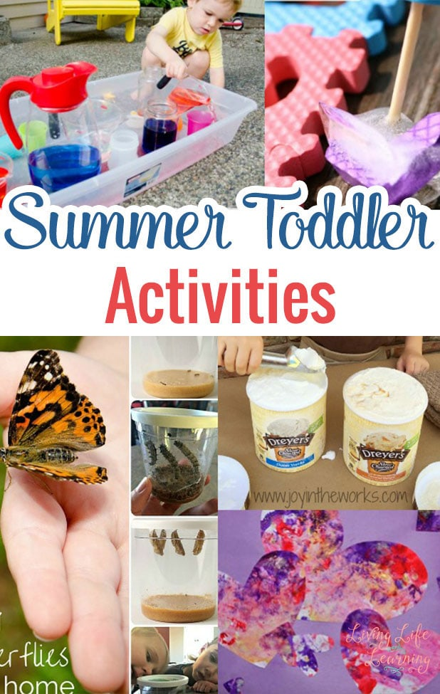Fun summer toddler activities