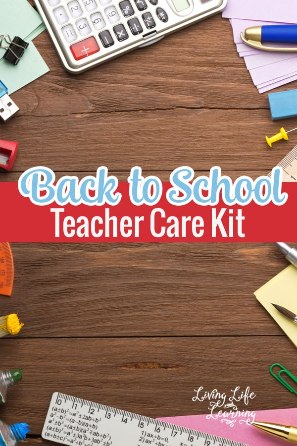 Get organized for the new school year and create a Back to School Care Package for Teachers you know or if you're a teacher yourself consider creating your own