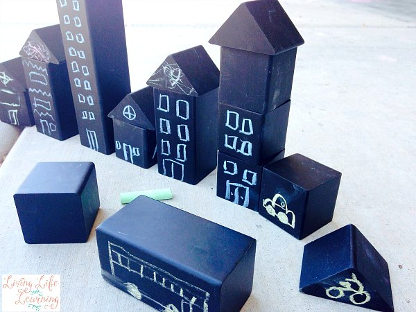 The Best Outdoor Building Blocks - A Chalk Adventure on Life Outdoor Living Block id=26837