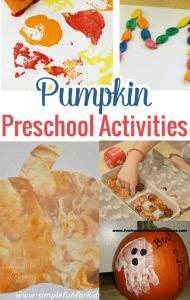 Get ready for fall with one of these fun pumpkin preschool activities, the perfect ideas to get your child in the spirit for fall and the beautiful colors.