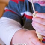 Cheerios fine motor snack