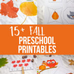 Fall Preschool Printables