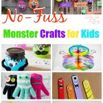 If you love monsters, then you won't want to miss this collection of high-quality monster crafts that make the perfect Halloween crafts for kids!