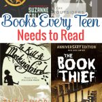 These are books very teen needs to read because every single book on this list is great. And actually, they are great for adults to read, too.