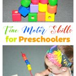 Fine motor skills for preschoolers is so much more than just play. It is a great repetitive practice for now and for the rest of their lives.