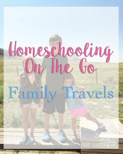 Homeschooling On The Go - Family Travels