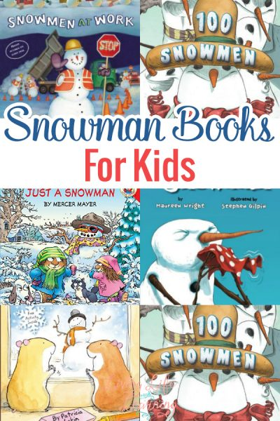 Snowman Books for Kids