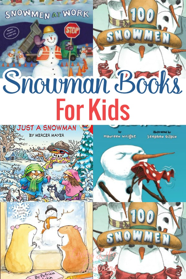 Here are some of the very best snowman books for kids that you will ever find. It is so much fun growing our collection at home and, as soon as the Winter season hits, out they come!