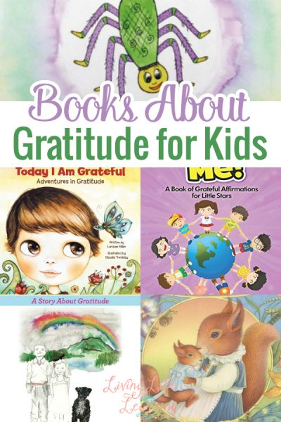 These are great books about gratitude for kids to read together as a family and discuss the meaning and scenarios. Everyone will love these!
