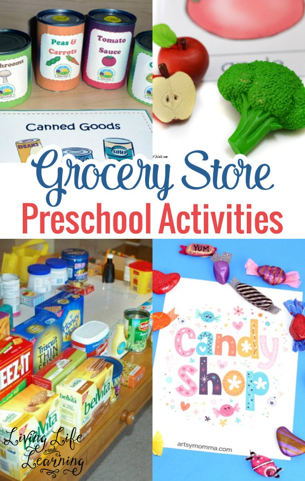 Grocery Store Preschool Activities