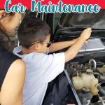 Teach Kids About Car Maintenance to teach kids life skills and save money