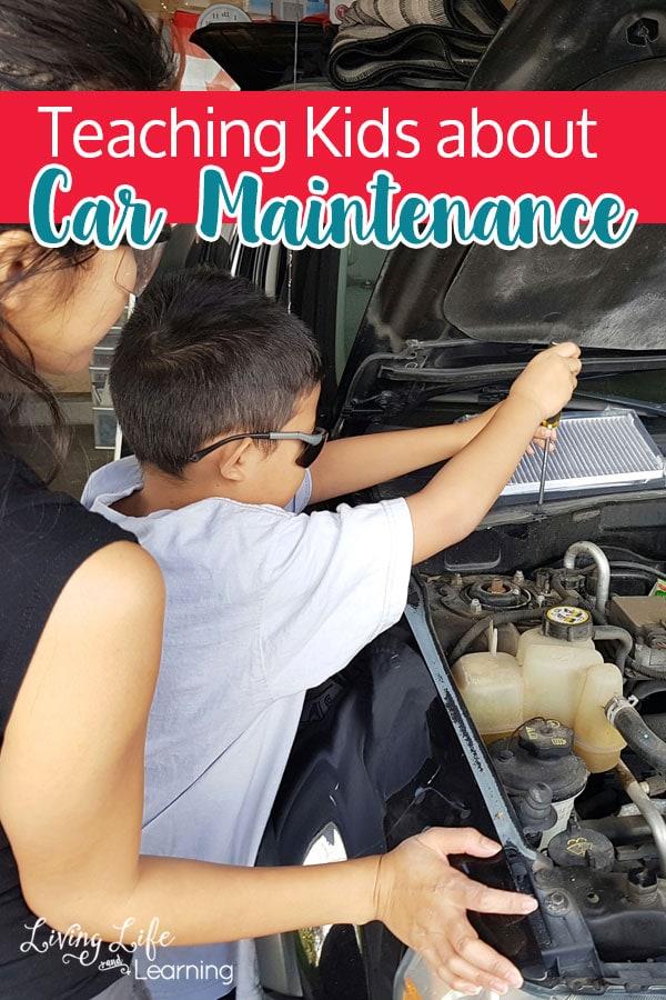 Teaching Kids About Car Maintenance