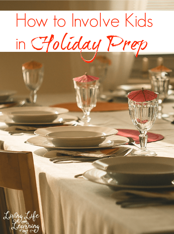 How to Involve Kids in Holiday Prep