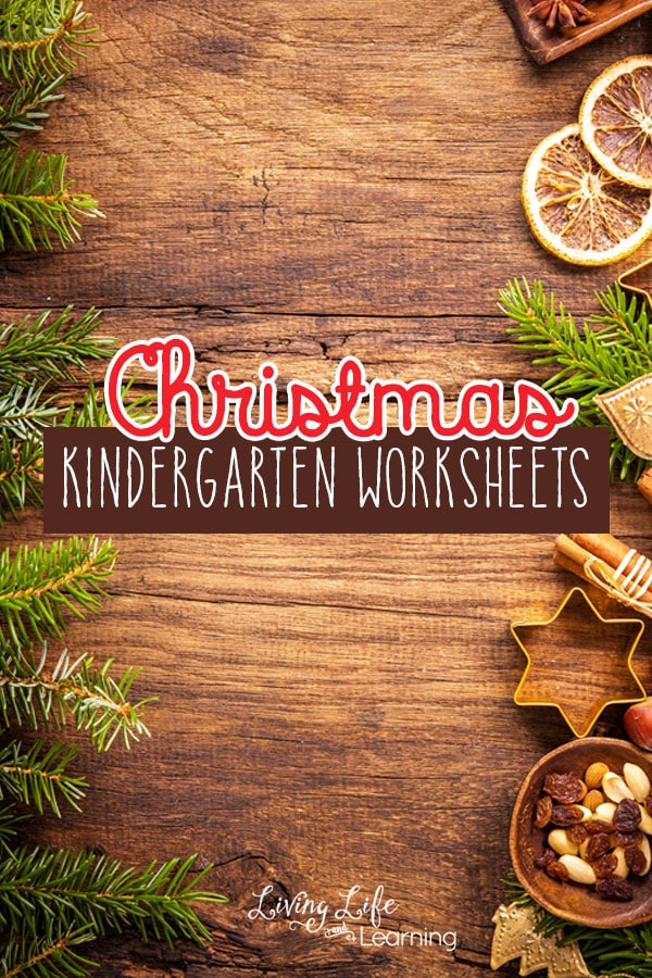 Have fun learning with these christmas kindergarten worksheets, your kids will thank you for the holiday cheer infused into their school day.
