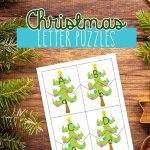 Christmas Letter Puzzles