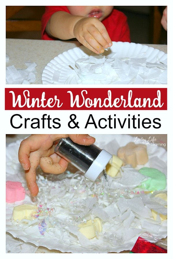 Winter Wonderland Crafts & Activities for Toddlers