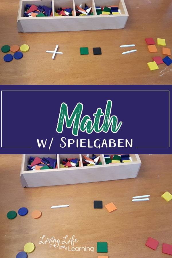 Math with Spielgaben - Get your daily math lessons done using Spielgaben blocks to show concrete math examples for your kids.
