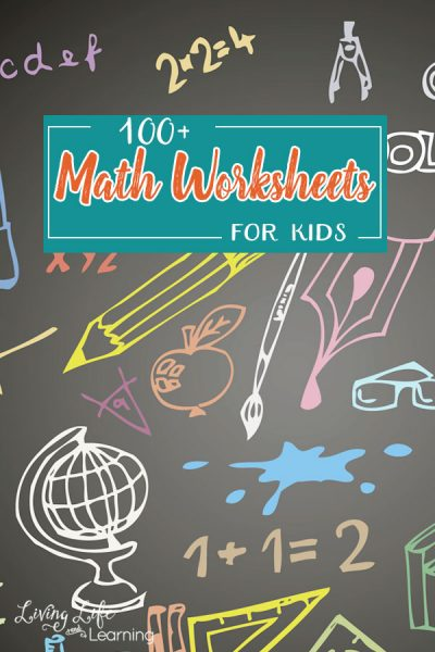 Let's have some fun with the kiddos and Math, shall we? Here is an amazing list of 100+ Math worksheets kids will love! Come take a look!