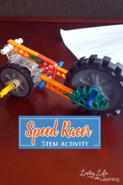 Speed Racer STEM Activity - Test out different car modifications to see if you can build the fastest car