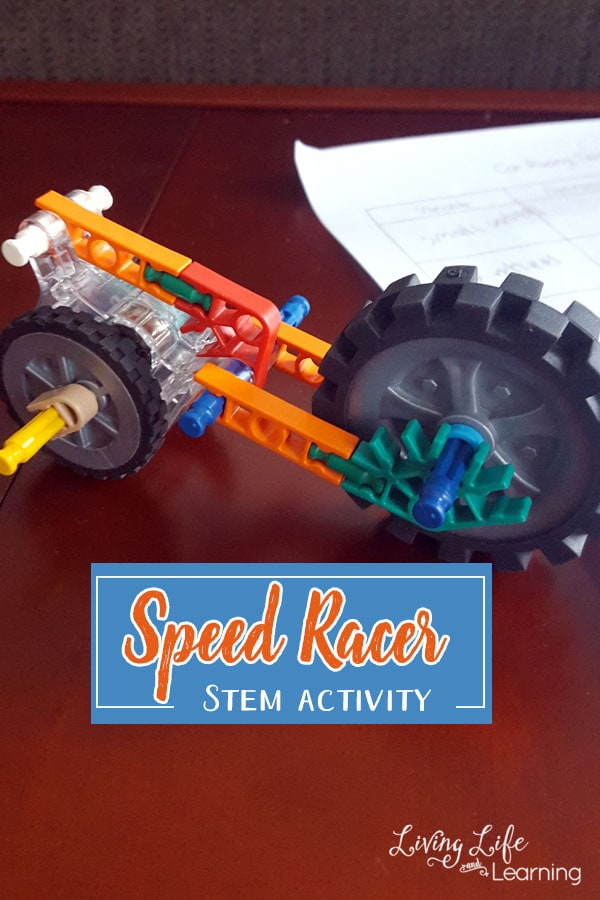 Speed Racer STEM Activity