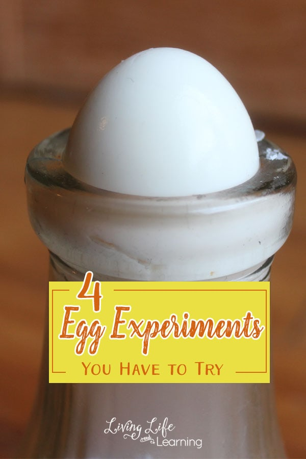 With spring in full swing I thought that some egg experiments were called for. Some of them we have done before, and some we gave a try for the first time.
