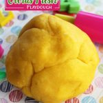 Fresh Citrus Playdough Recipe