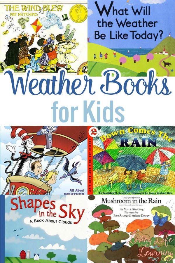 In this post, we share a list of books about the weather that help us learn more and understand more about the weather in this beautiful planet of ours.