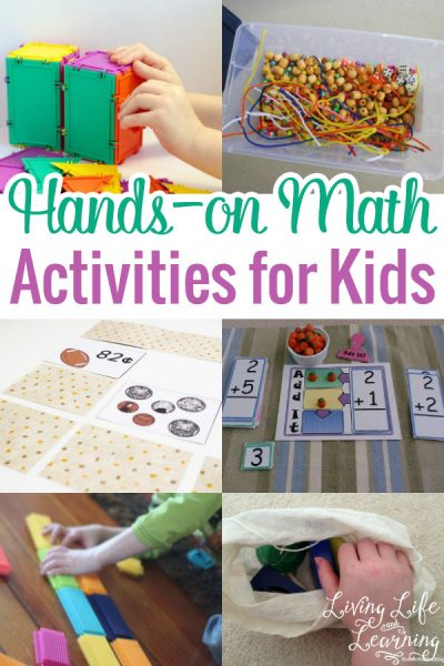 Instead of hunting down for great and fun Math activities, I have a list of wonderful hands-on Math activities for kids that you can use anytime!