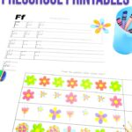 Spring Flowers Preschool Printables