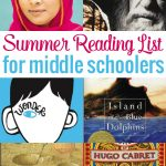 Summer Reading List for Middle Schoolers