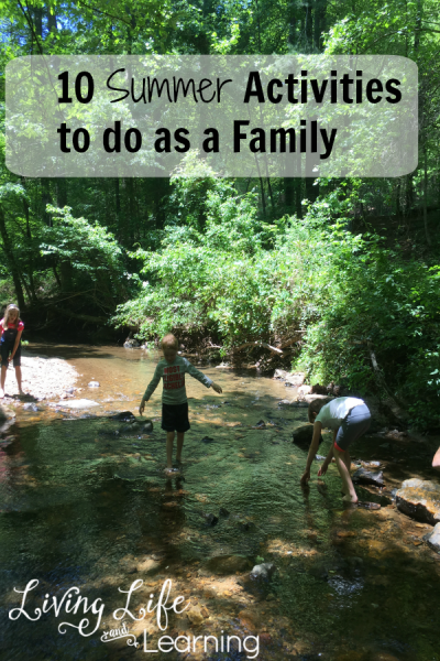Don't sit in front of the screens all summer have fun with these 10 summer family activities, you kids will thank you later