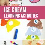 Ice Cream Learning Activities