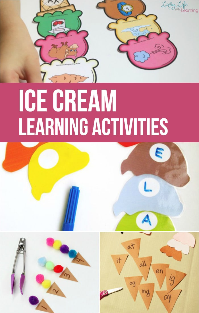 Take a look at the perfect set of themed activities for this Summer! They are none other than activities that are ice-cream themed! They are so much fun!