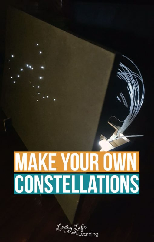 Make your own constellations with this Tinker Crate subscription box, no need to gather supplies and plan anything, they do it all for you, easy peasy!