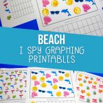 beach i spy graphing worksheets