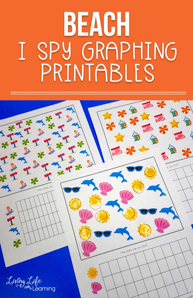 Have fun counting with this fun Beach I Spy Graphing printable