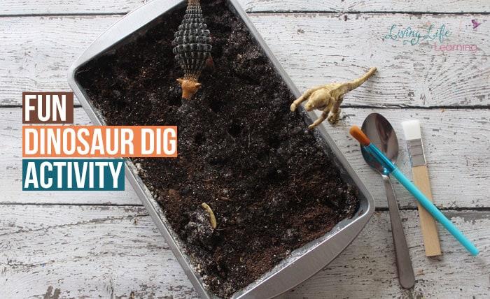 Dinosaur Fossil Dig Activity