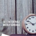 Create a homeschool routine and make a homeschool schedule
