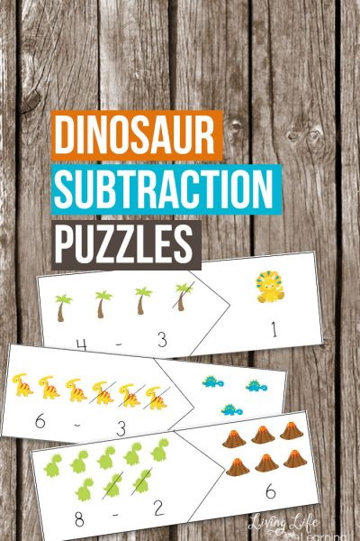 Keep up your math skills with these fun dinosaur subtraction puzzles. A fun way for dino lovers to improve their math skills and have fun at the same time.