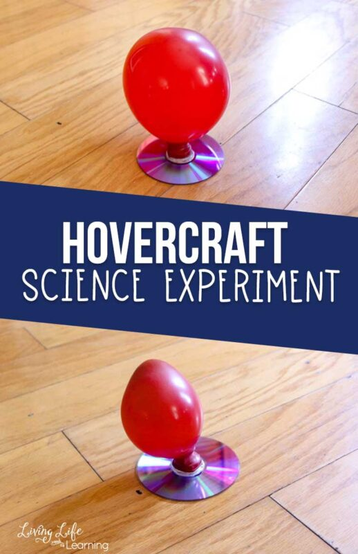Hovercraft Science Experiment