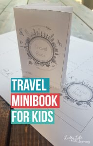 Capture your child's memories with this fun travel minibook for kids, see what your child thought was the most memorable on your last trip.