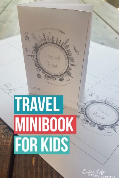 Travel Mini Book for Kids