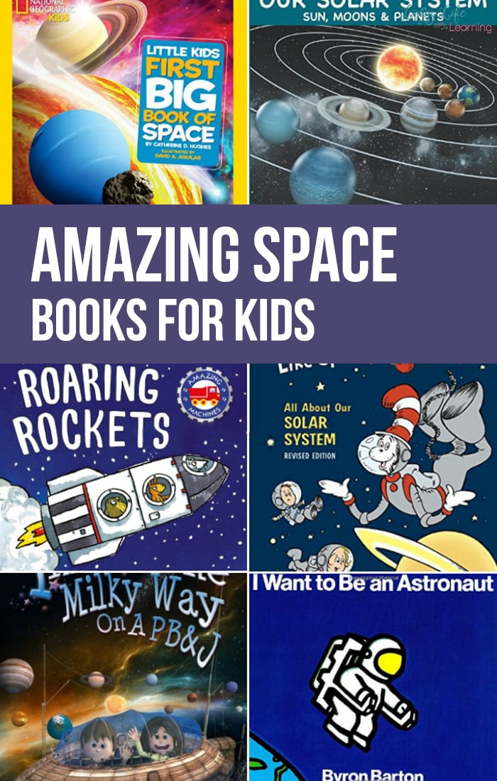 Learning about space, astronomy and astronauts is a lot of fun, not to mention planets and stars.These amazing space books for kids are a must read for your family.